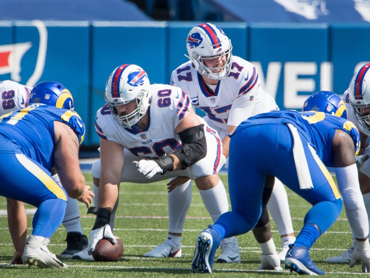 Buffalo Bills OL Mitch Morse restructures contract