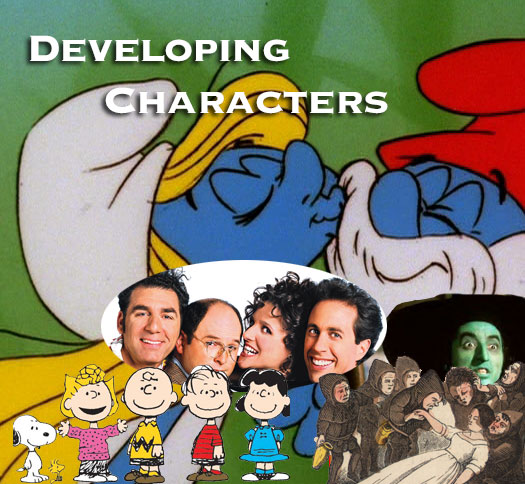 developing characters in the writing process
