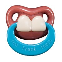 Two Front Teeth Pacifier