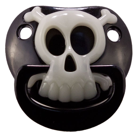 Pirate Baby Pacifier