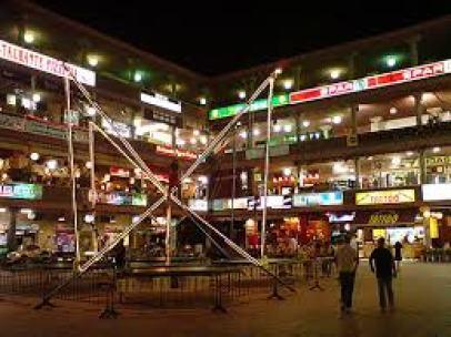 Yumbo Centre at night