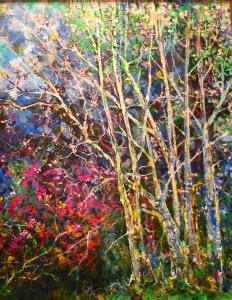 A Grove of Birch Trees by Billy Hedel 2016