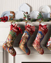 Monogramed Christmas Stockings from Neiman Marcus