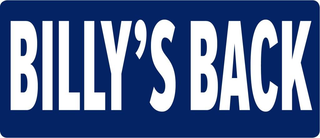 Billy's Back