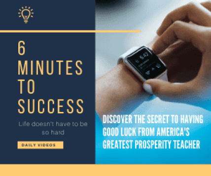 6 minutes to success