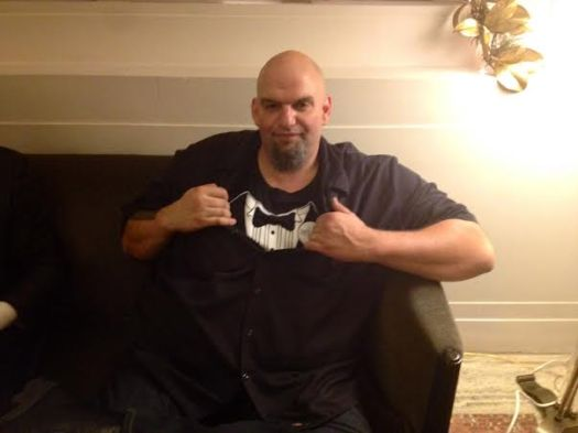 Braddock's John Fetterman does Pennsylvania Society ...