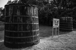 Tank Battery at the 1st Oil Well in Oklahoma