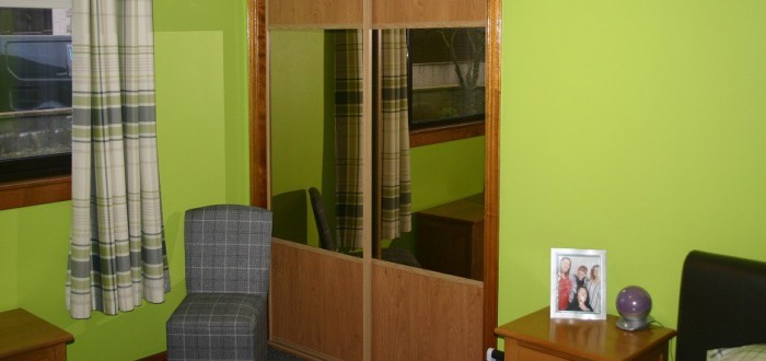 image for Bedroom Design, Supply And Installation Of The Pippy Oak Bronzed Mirrors  range. By Billy Walker Joinery Services Ltd, Fraserburgh, Aberdeenshire.