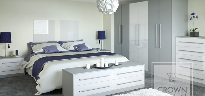 image for Crown Rialto Metallicwhite Zeluso Greylight range. By Billy Walker Joinery Services Ltd, Fraserburgh, Aberdeenshire.