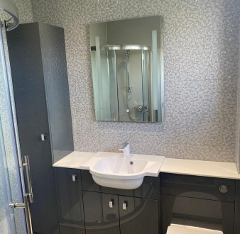 image for Bathroom Design, Supply And Installation Of The Bathroom Shower Room 4. By Billy Walker Joinery Services Ltd, Fraserburgh, Aberdeenshire.