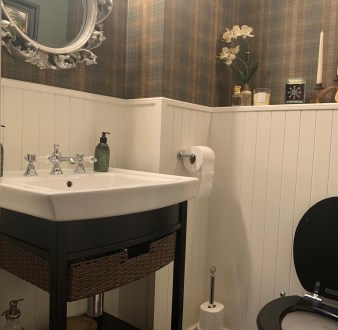 image for Bathroom Design, Supply And Installation Of The Bathroom Wc 2. By Billy Walker Joinery Services Ltd, Fraserburgh, Aberdeenshire.