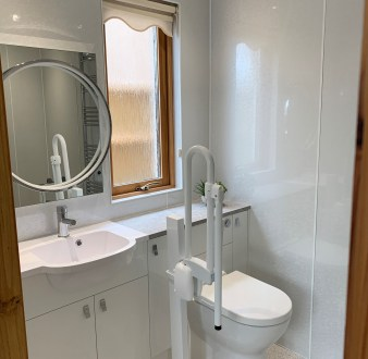 image for Bathroom Design, Supply And Installation Of The En Suite 1. By Billy Walker Joinery Services Ltd, Fraserburgh, Aberdeenshire.