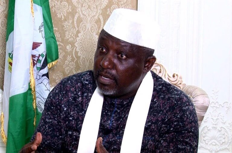 No-Sane-Person-In-Imo-Will-Hear-My-Voice-And-Not-Stand-Still,-Says-Rochas-Okorocha