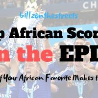 The English Premier League and The Highest Scoring African Players
