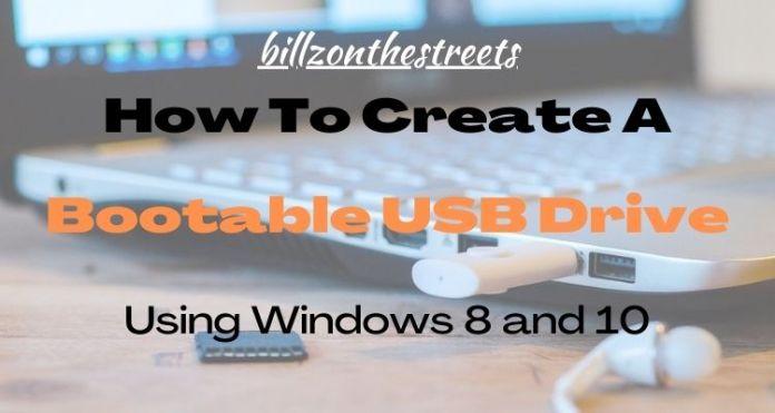 Create a Bootable USB Drive