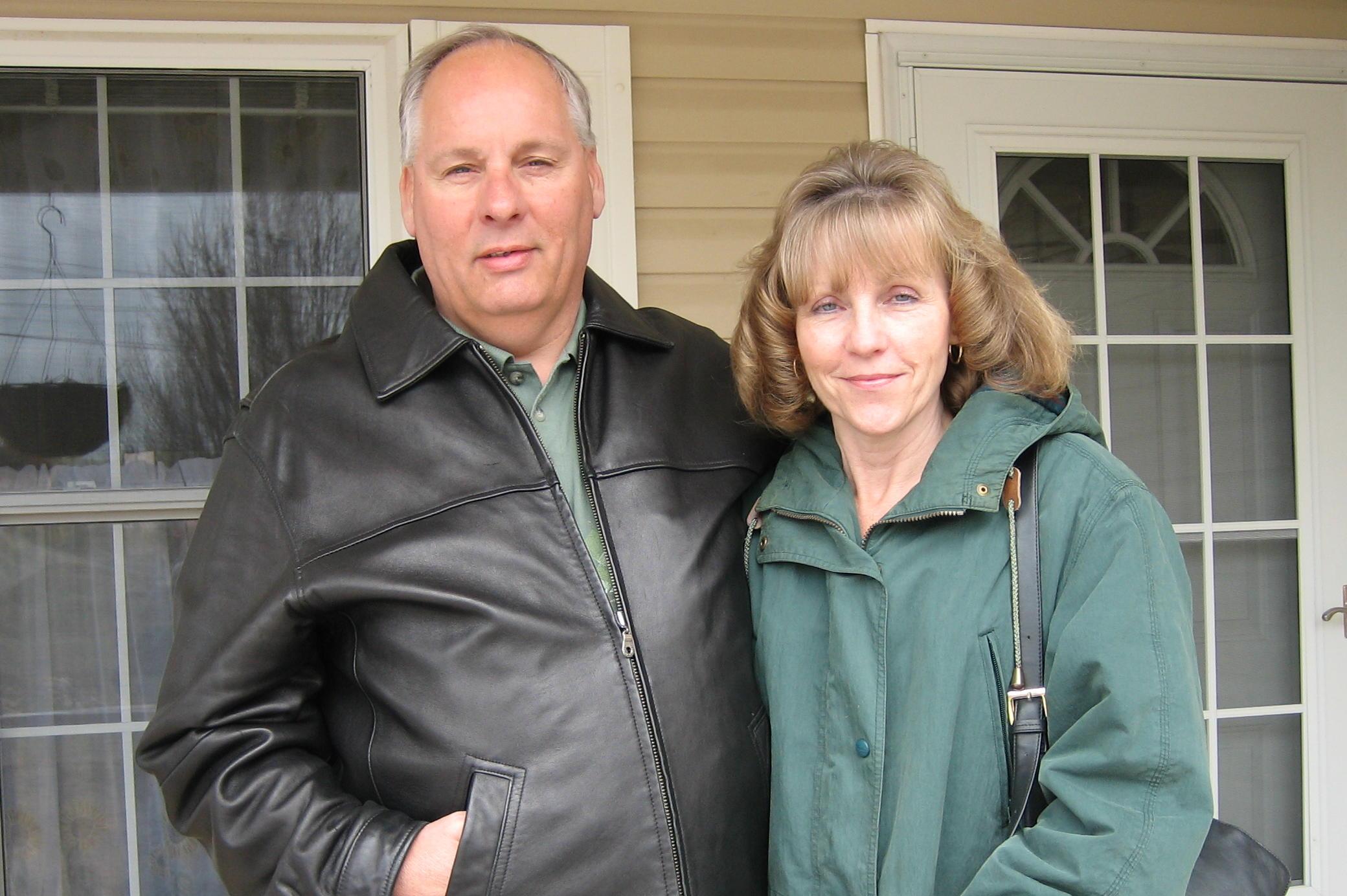Karen Godin and her husband Gary