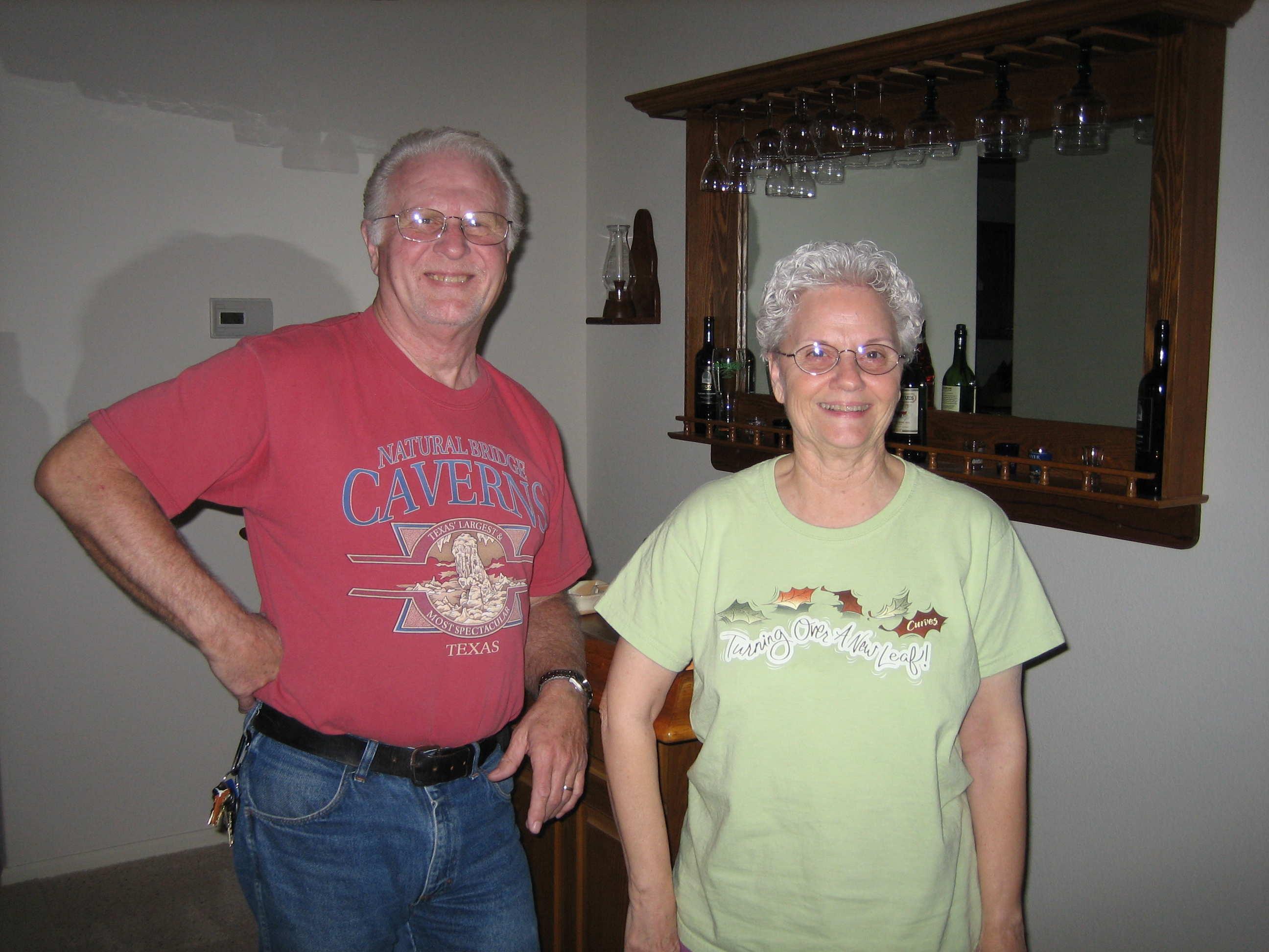 Rey and Darlene Berquist