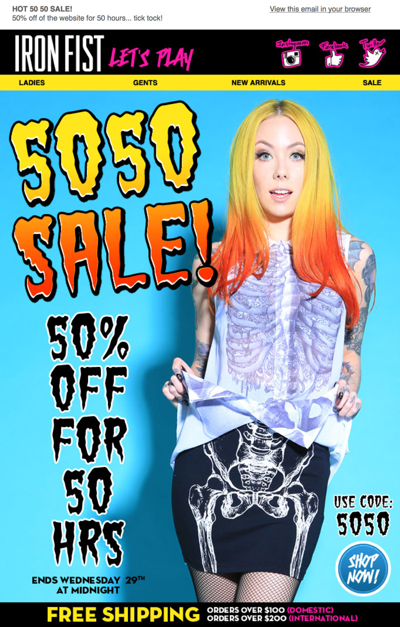 Iron Fist - Crazy funky stuff - get crazy - get your self something cool in 50% sale