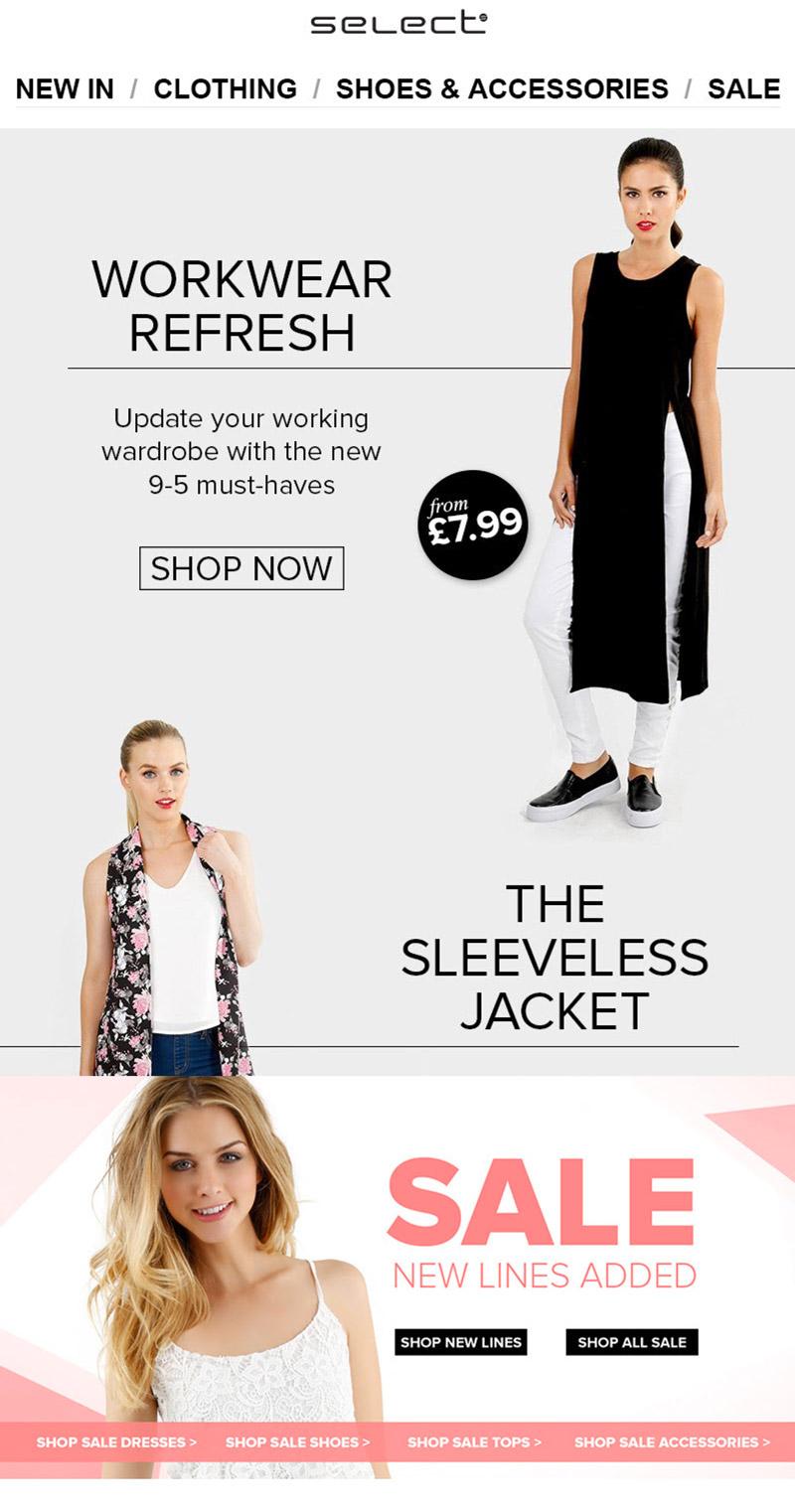 Select - Work wear