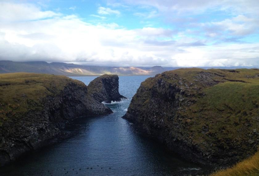 Snæfellsnes peninsula, Western Iceland - Arnastapi.
