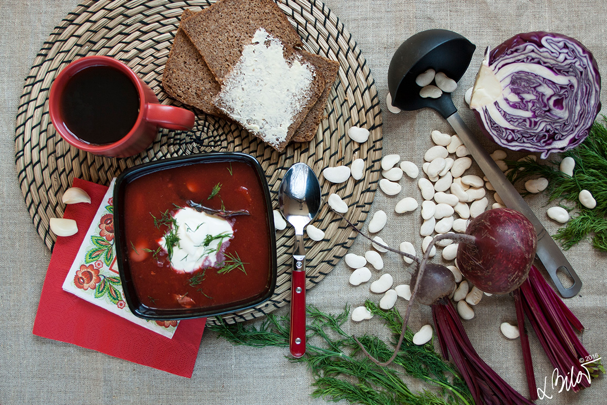 Family recipe: Ukrainian Borsch
