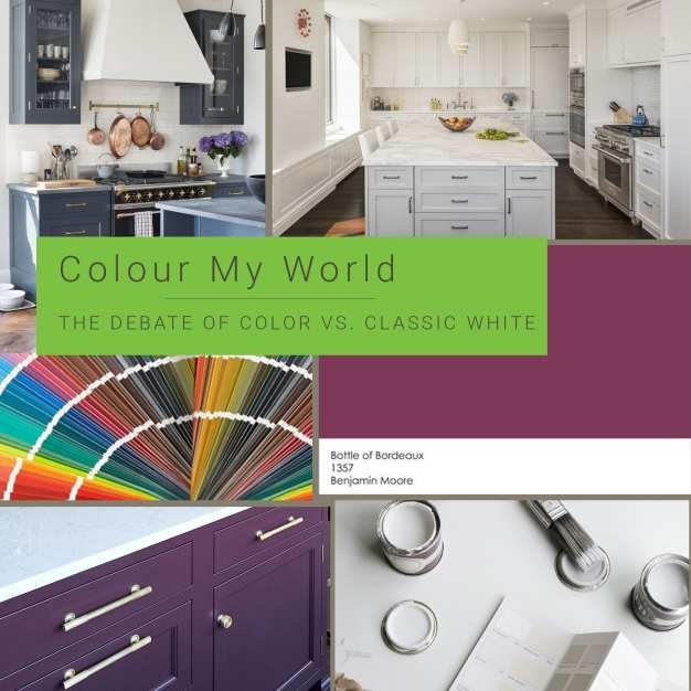 Colour My World - the Debate of Color vs. Classic White in Kitchens