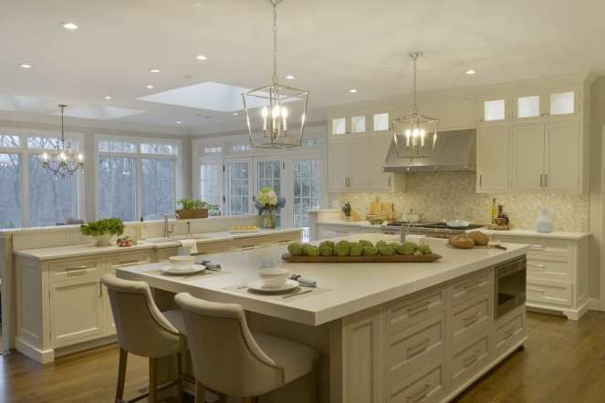 Classic White & Driftwood Kitchen