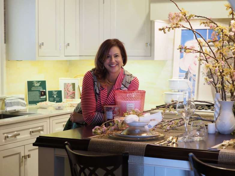 Lori Gizzarelli in her Art of the Table Kitchen