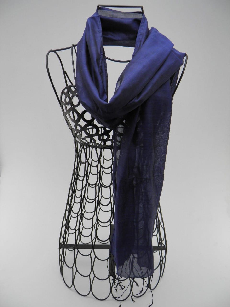 Foulard Essentiel - Bleu
