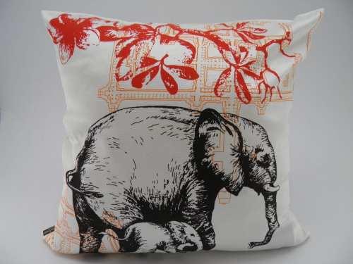 Coussin Animal - Éléphant