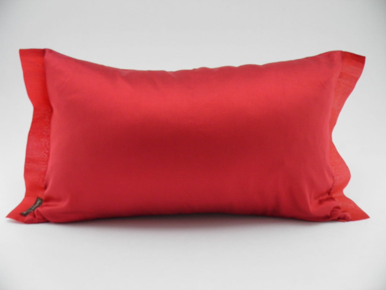 Coussin Organza - Rouge - 45x27cm