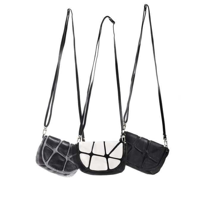 split eco friendly leather evening bag bil p storeman. Black Bedroom Furniture Sets. Home Design Ideas