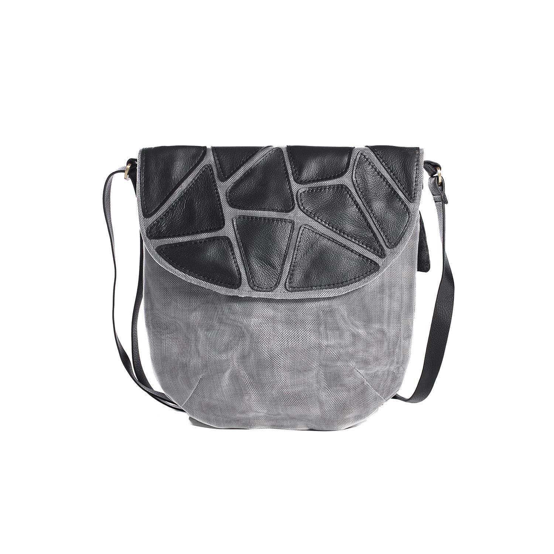 stone eco friendly leather shoulder bag bil p storeman. Black Bedroom Furniture Sets. Home Design Ideas