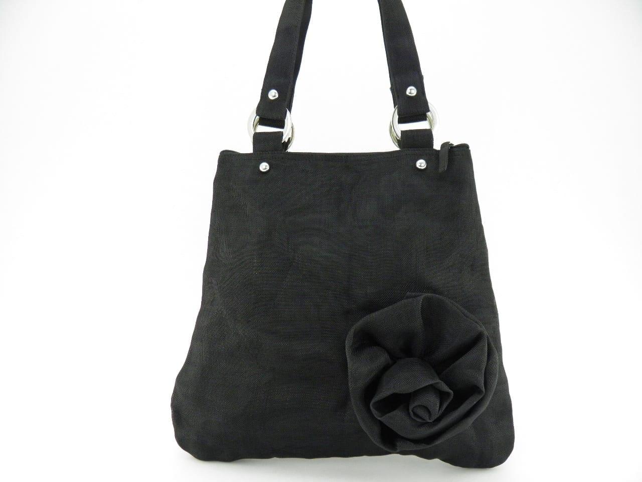 Le Fleuri - Cabas - Petit - Noir
