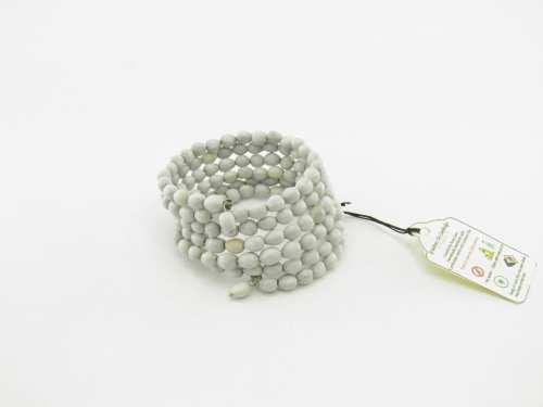 Le Spirale  – Bracelet Graines Naturelles