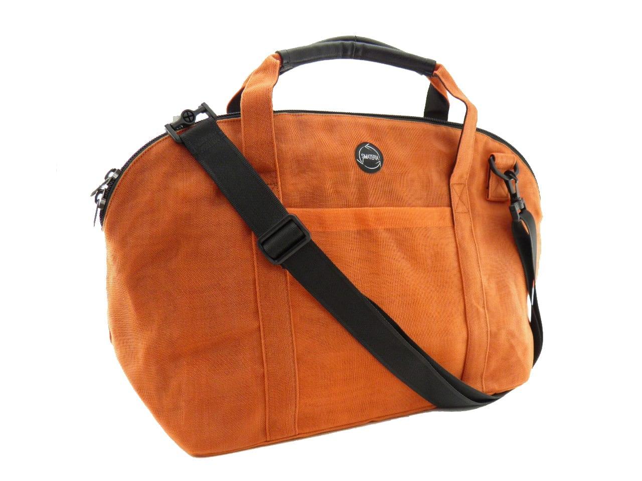 Le Cabine - Sac Voyage éthique - Orange