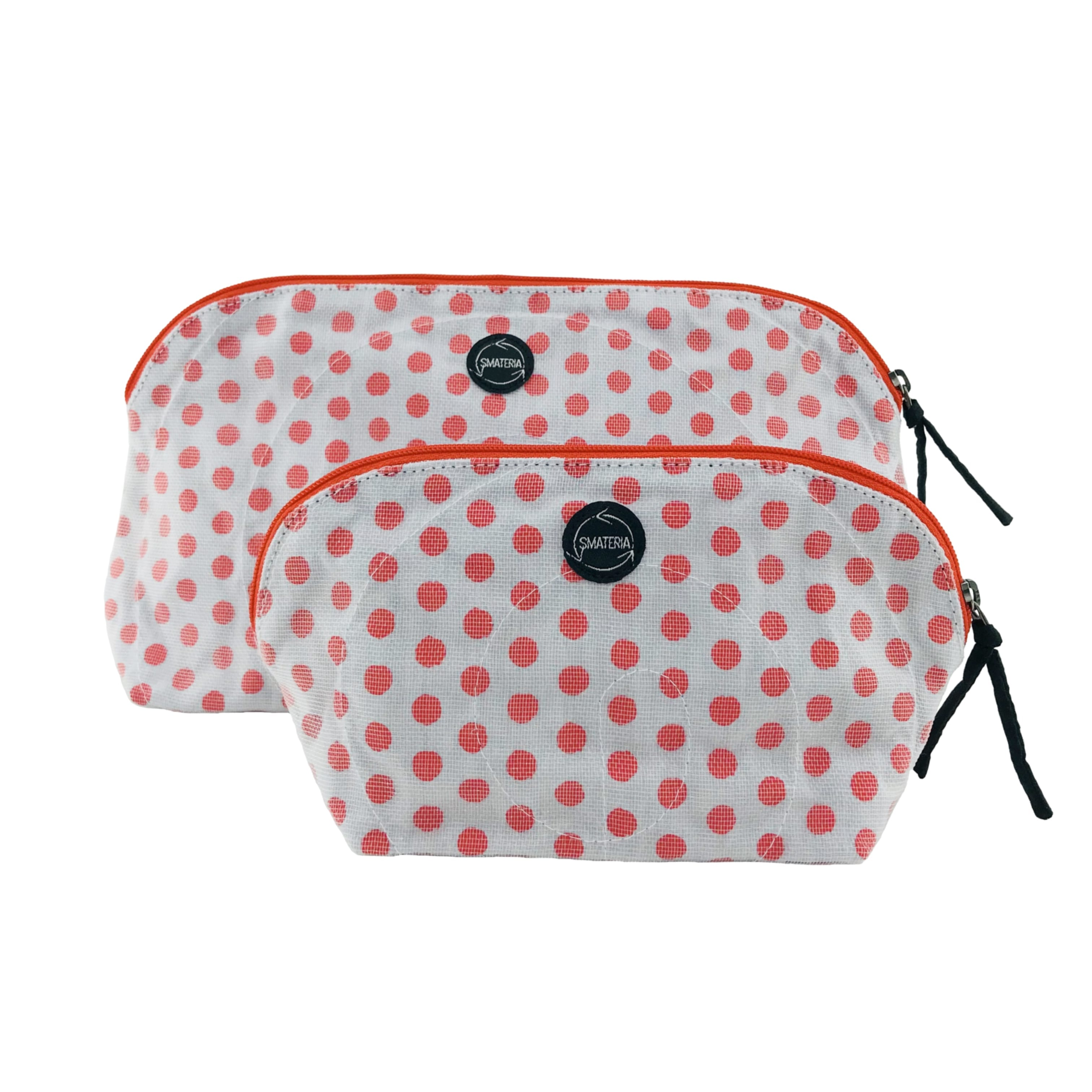 La Trousse de maquillage - Grand - Petit - Pois rouges