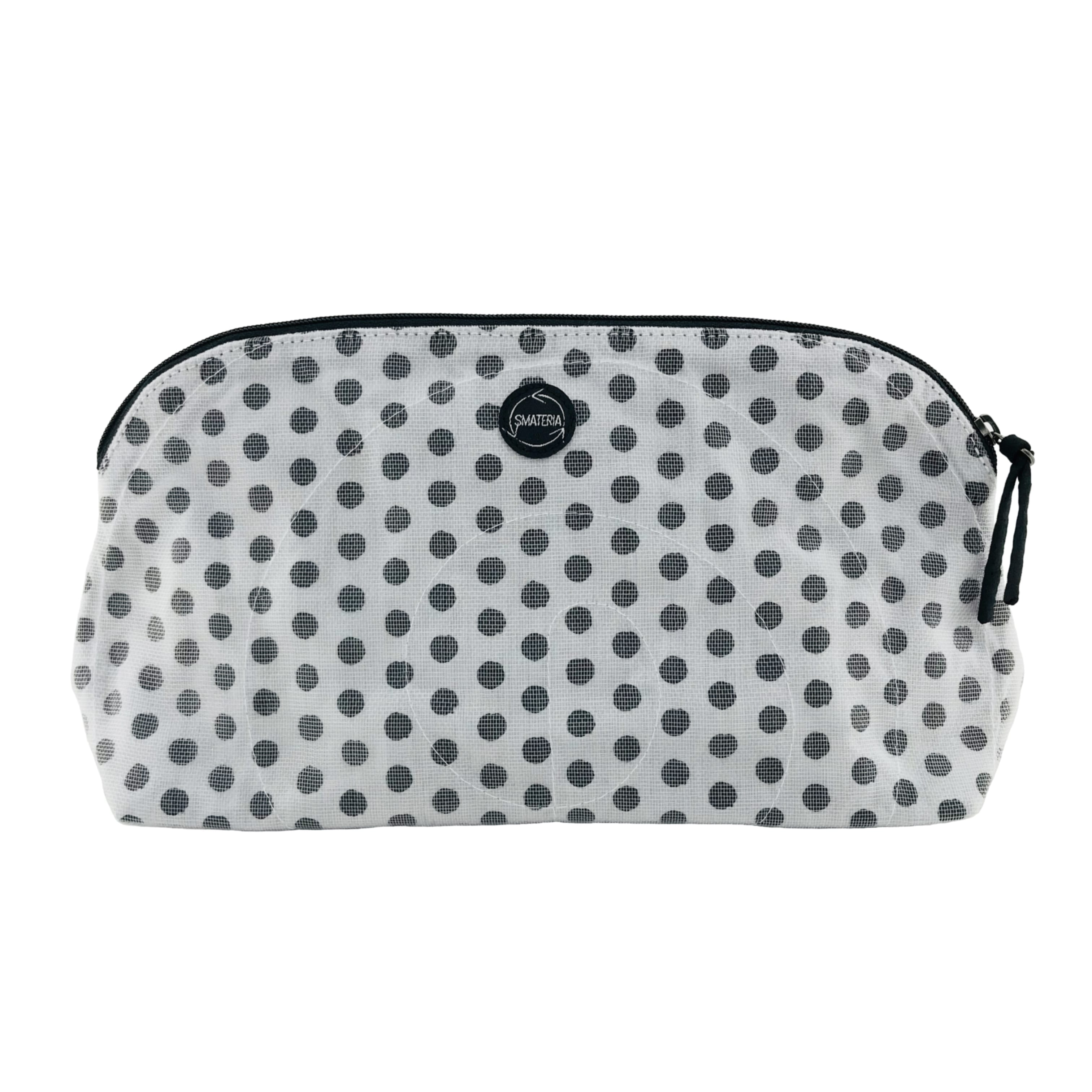 La Trousse de maquillage - Grand - Pois noirs