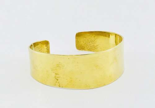 Plain Bracelet - Recycled Brass