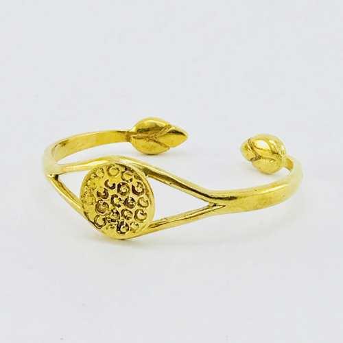 Le Bracelet Coeur De Lotus – Laiton Recyclé