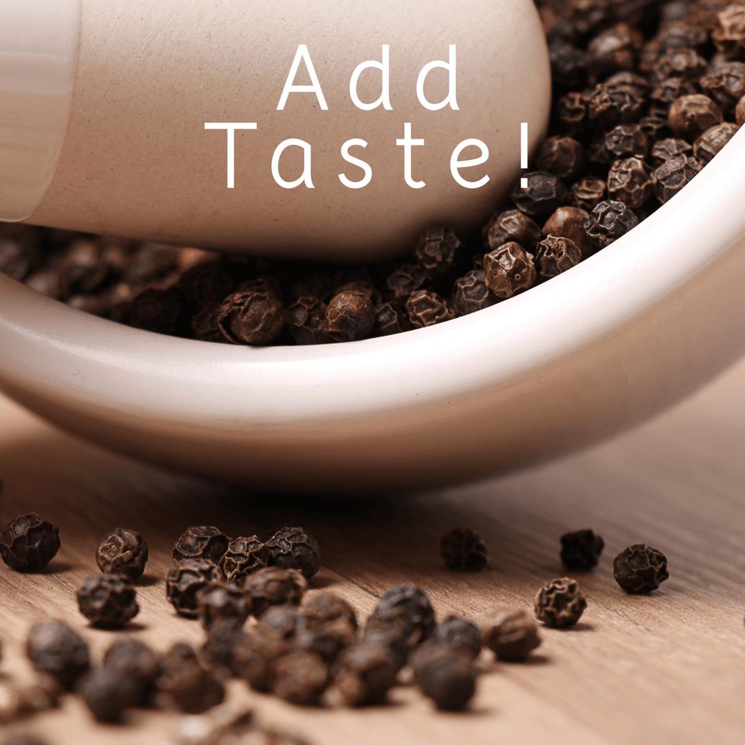 Add Taste!