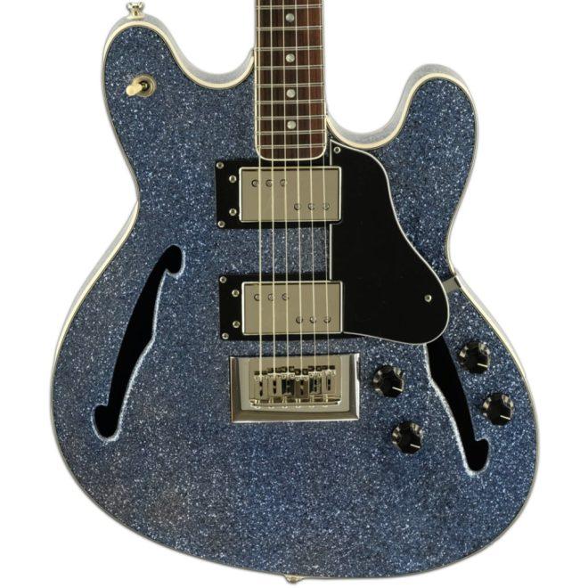 Blue Sparkle Carved Volare