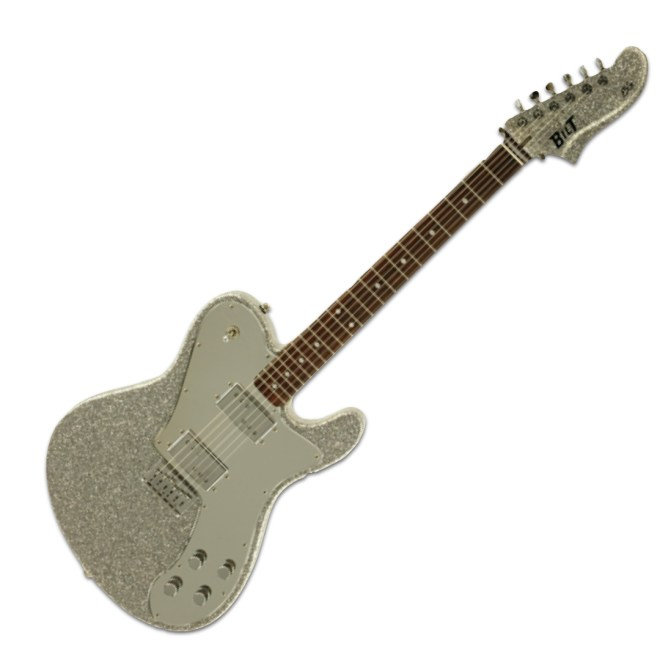 Full Body, Silver Sparkle ESG & Mirror Pickguard
