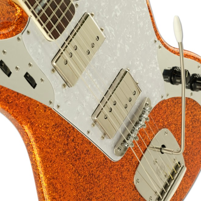 Body Detail, Orange Sparkle Relevator LS