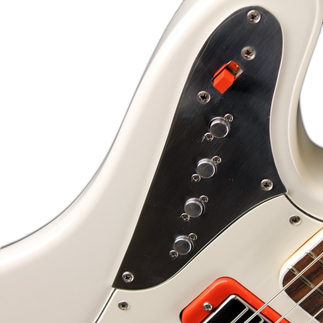 Body Detail, JHS Olympic White, Red Accents Relevator LS