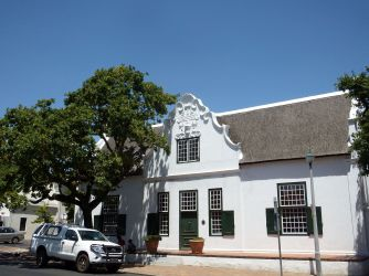 Stellenbosch Typical Historic Building