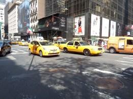 NY - Obligatory yellow cab shot