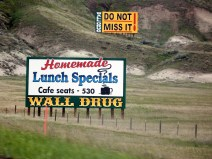 Wall Drug Store Signs