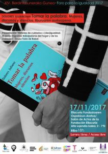 """Diálogo con Dolores Juliano Presentación del libro """"Tomar la palabra. Mujeres, discursos y silencios"""" @ Salón de Actos de la Fundación Ellacuría. C/Padre Lojendio, 2-1ªD"""