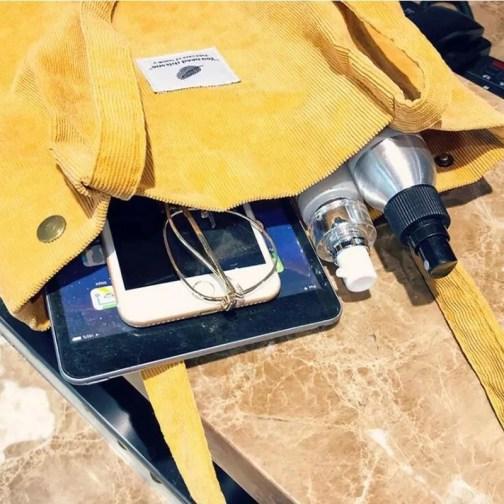 Cord Shopper Tasche